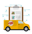 mail order delivery vector image vector image