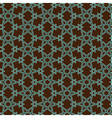 pattern on islamic motif vector image vector image