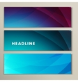 Set abstract bright picture pink purple blue vector image