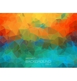 Abstract colorful background for web Design vector image vector image