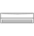 Air conditioner vector image vector image