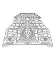 Casket for jewelry vector image