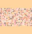chaotic random polygonal mosaic pattern hd vector image vector image