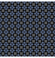 Dark seamless geometric pattern vector image vector image