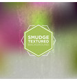 multicolor grunge background with smudged texture vector image vector image