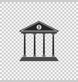 note paper with pinned pushbutton icon isolated vector image