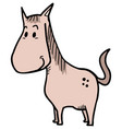 small horse vector image vector image