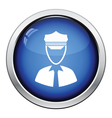 Taxi driver icon vector image vector image