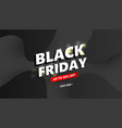 abstract black friday sale background with text vector image