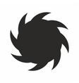 black hole icon for web app design vector image vector image