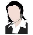 calling center staff vector image vector image