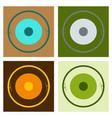 circle neuron art neuron logo template creative vector image vector image