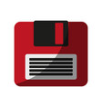 diskette or floppy disk icon imag vector image vector image