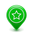 Favorite icon map pin vector | Price: 1 Credit (USD $1)