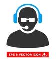 Operator Eps Icon vector image vector image
