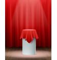 presentation silk cloth background vector image vector image