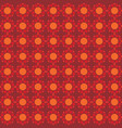 seamless pattern orange background vector image vector image
