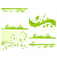 set vector backgrounds vector image vector image