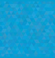 sky blue shades background square of triangles vector image