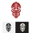 totem mask vector image