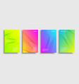 brochure-blend-four-gradient vector image