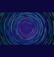 circular geometric vortex light motion background vector image vector image