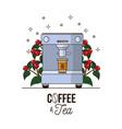 coffee culture concept vector image