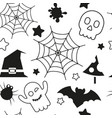Halloween holiday seamless pattern