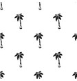 palm icon in black style for web vector image vector image