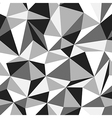 triangle monochrome pattern vector image vector image