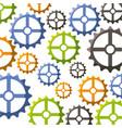 gear wheel background vector image