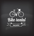 Bike rental design concept