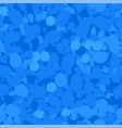 blue circles seamless pattern vector image