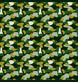 camouflage spots green seamless pattern vector image vector image