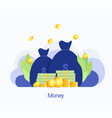 concept big money vector image vector image