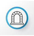 fireplace icon symbol premium quality isolated vector image vector image