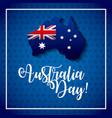 happy australia day vector image vector image