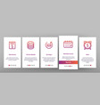 refund e-payment system onboarding vector image vector image