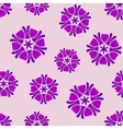 Seamless background lilac boho chic vector image vector image