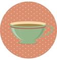 Vintage Cup vector image