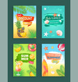 best discount summer sale vector image vector image