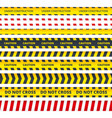 caution stripe danger or attention messages vector image vector image
