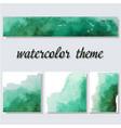 green aquarelle watercolor splash