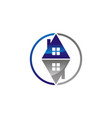 house buy and sell vector image vector image