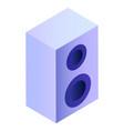 smart home music device wireless digital speaker vector image vector image