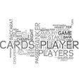 baccarat chemin de fer rules of the game text vector image vector image