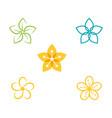 beauty icon flowers design