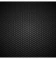 Black and gray carbon background with hexagons vector image