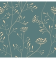 Cow parsnip seamless pattern vector image vector image
