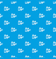 eco natural cream pattern seamless blue vector image vector image